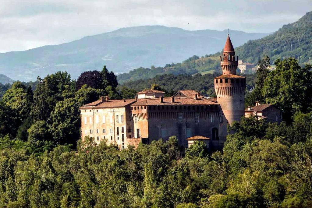 Italy - Castello di Rivalta, Piacenza