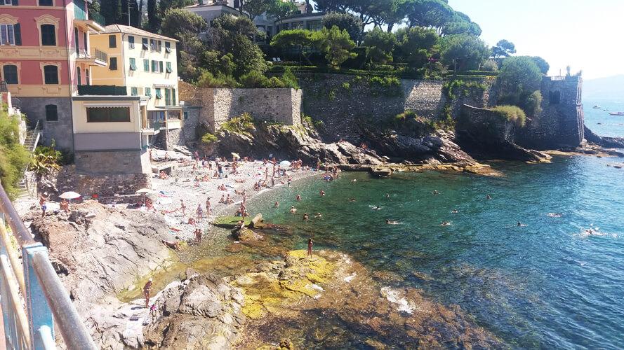 Genova Nervi Beach