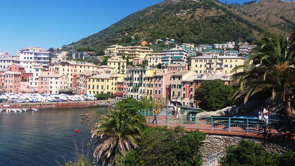 One Day in Nervi, Genoa, Italy