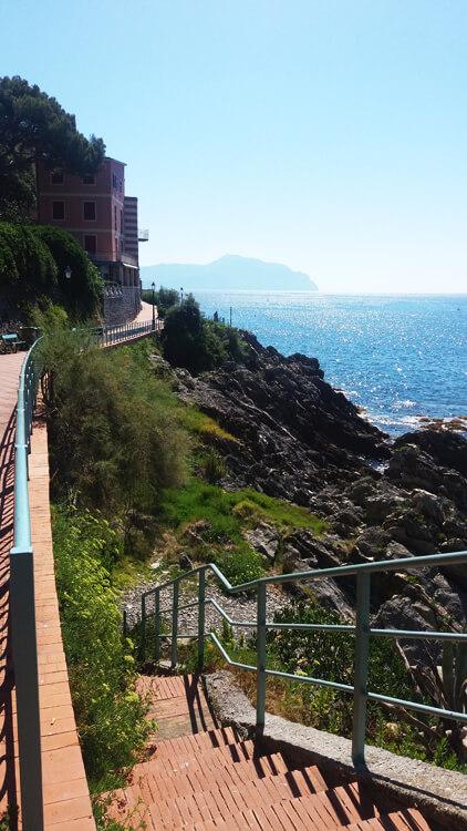 Trip to Genova Nervi