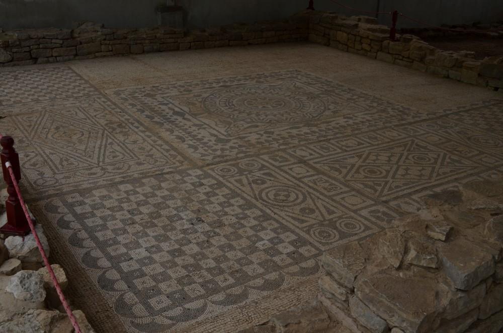 Roman Mosaics in Risan, Montenegro