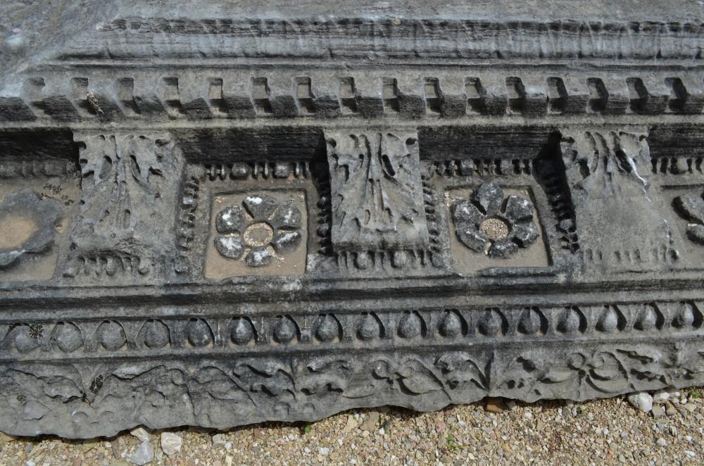 Roman Mosaics in Risan Montenegro