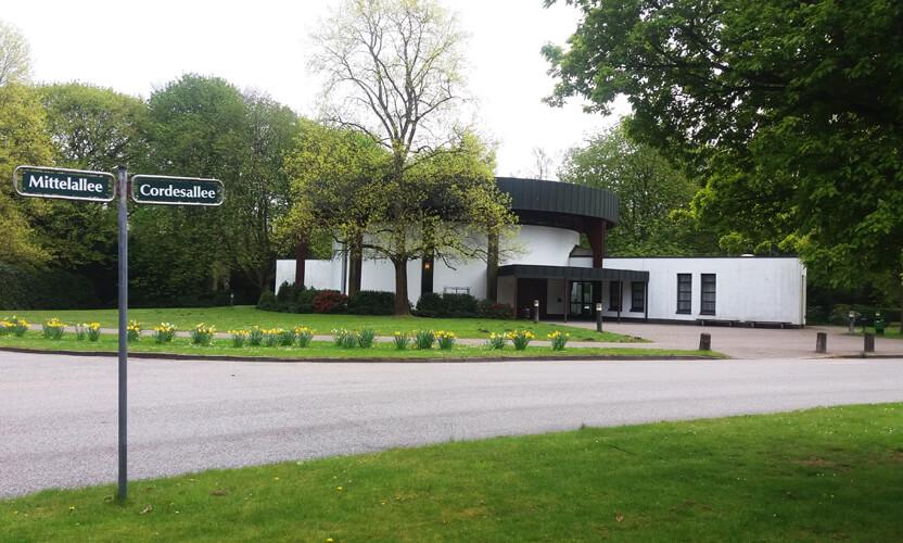 Ohlsdorf Park Hamburg Chapel