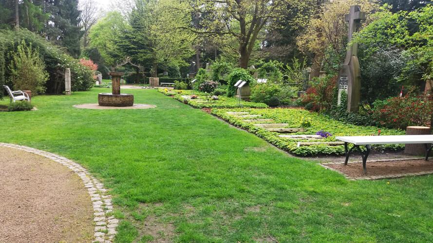 Ohlsdorf Park Hamburg Walk