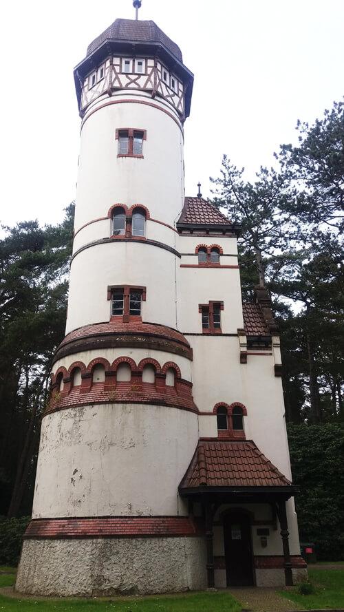Ohlsdorf Park Hamburg Water Tower
