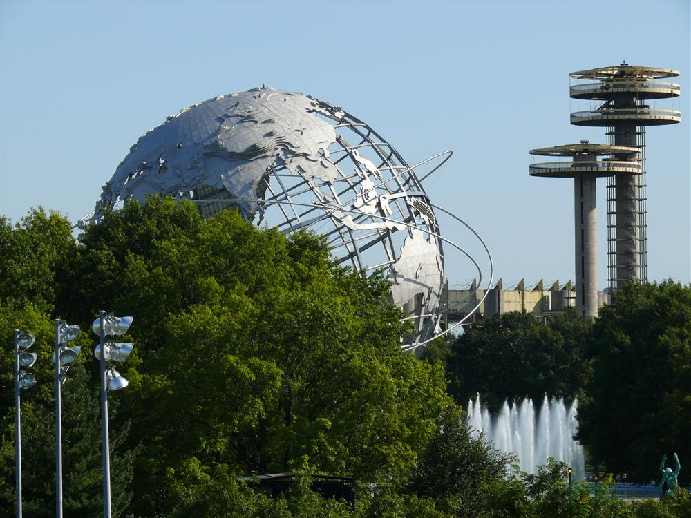 USA: Flushing Meadows –  Corona Park in New York
