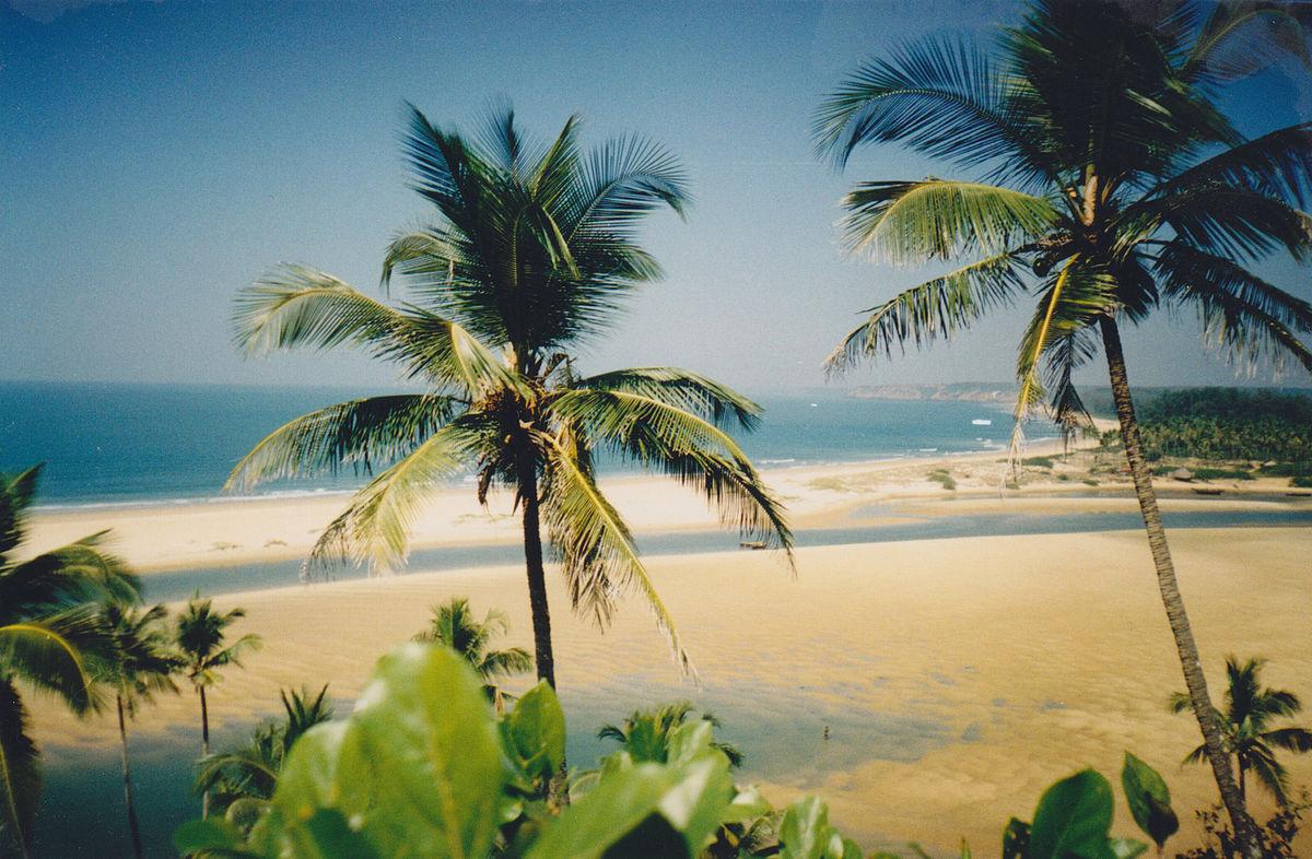 Querim Beach (Keri Beach) Goa